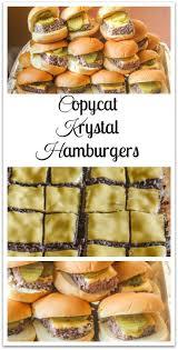 copycat hamburgers an easy to make version of the original
