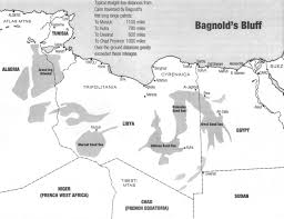 Blank Northern Africa Map by Clash Of Forces In North Africa Bagnold U0027s Bluff