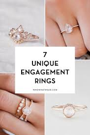 simple unique engagement rings jewelry rings solitaire halo diamondment ring wedding band set