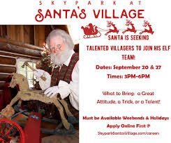 Seeking Who Plays Santa Santa Is Seeking Talent In Lake Arrowhead Santa S