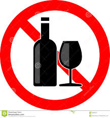 alcohol vector no alcohol stock vector image of beverage alcohol allowed
