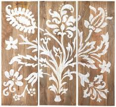 faria wood wall panel set of 3 40x14 ea i think 209 for