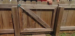 Backyard Gate Ideas Repairing A Sagging Fence Gate With An Anti Sag Gate Kit Today U0027s