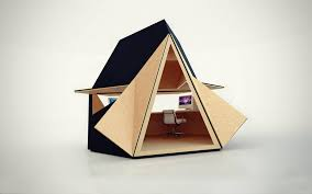 bureau portable portable wooden home office fubiz media