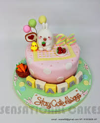 Sensational Theme Molang Cake Singapore For Celebrity Blogger Dawn Yang Cute