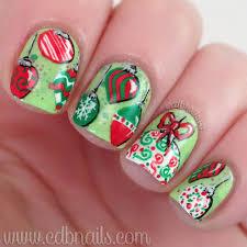 cdbnails 12 days of nail ornaments