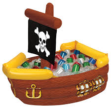 inflatable pirate ship cooler birthdayexpress com