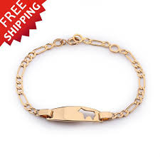 childrens gold jewelry wholesale baby bracelets bangles pulseras gold bracelet