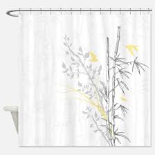 Bamboo Print Shower Curtain Bamboo Shower Curtains Cafepress