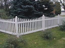 Types Of Garden Fences - vinyl garden fence fence ideas