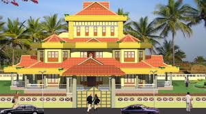 evens construction pvt traditional kerala house elevation colonial