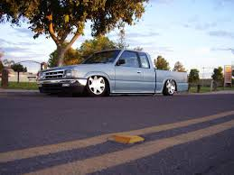 nissan hardbody bagged on 22s how long have you owned your truck street source the