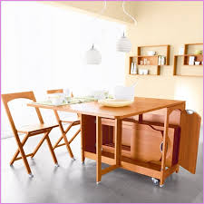 Folding Table With Chair Storage Inside Luxury Drop Leaf Folding Dining Table Stunning Folding Table With