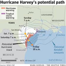 Victoria Texas Map Harvey Spins Deeper Inland Full Scope Of Damage Is Unknown The