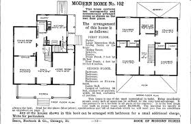 modern home floor plan is your foursquare house from a catalog