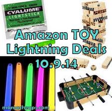 Amazon Foosball Table Amazon Lightning Deals Toy Schedule For 10 9 14 Foosball Table