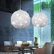 Schlafzimmer Lampe Bilder Glamouröse Hängeleuchte Aus Glänzendem Chrom Salamanca Lampen