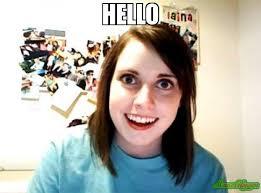 Hello Meme - hello meme overly attached girlfriend 1612 memeshappen