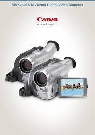 canon camcorder mvx200i user guide manualsonline com