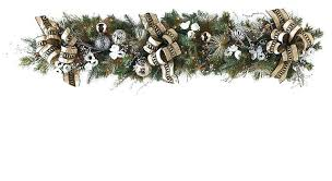 christmas garland christmas garland decorations pine cones garland christmas tinsel