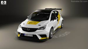 opel astra touring car 360 view of opel astra tcr 2016 3d model hum3d store