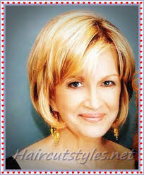 short hairstyles for older women with fine hair haircut styles