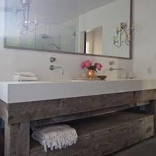distressed wood bathroom cabinet outstanding salvaged wood bathroom vanity design ideas intended for