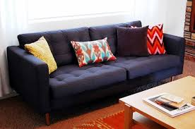 Nockeby Sofa Hack Make It Yours 5 Ways To Customize Your Ikea Sofa Apartment Therapy