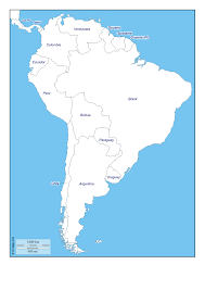 South America Physical Map by Postcards On My Wall South America Map Guyana Geo Map South