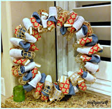 ribbon wreaths diy patriotic fourth of july ribbon wreath craft