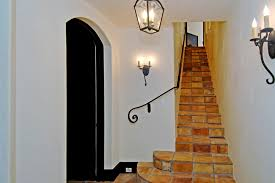 Mediterranean Wall Sconces Astonishing Iron Wall Sconce Decorating Ideas Images In Staircase