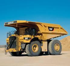 rigid dump truck electric mining and quarrying 795f ac
