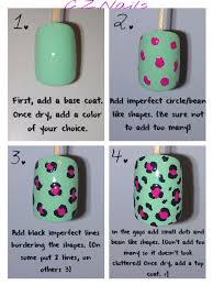 a friend asked me how i do my leopard print nails i decided to