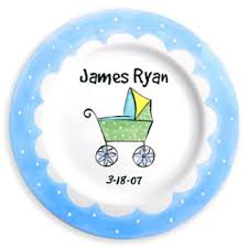 pewter birth plates personalized personalized baby plates