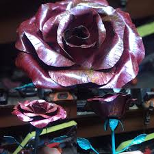 forever roses copper roses forever roses metal roses metal flowers