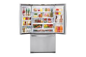 French Door Refrigerator Without Water Dispenser - gf b620sl 620l french door refrigerator with auto ice maker lg