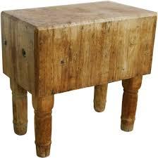 wood butcher block table huge 18th century french butcher block table w wooden legs