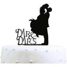 mrs and mrs cake topper unik occasions mr and mrs silhouette acrylic