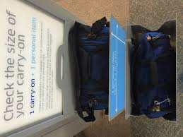 tom bihn bags and united airlines carry on