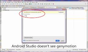 snapshot on android android studio genymotion device doesn t appear on device chooser
