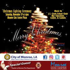 city of tree lighting ceremony city of