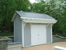 Storage Shed For Backyard by A Small Backyard Storage Shed Slabaugh Barns