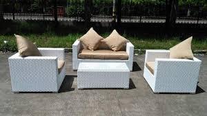 Backyard Furniture Set by Caribbean White Wicker Outdoor Pe Rattan Wicker Patio Furniture