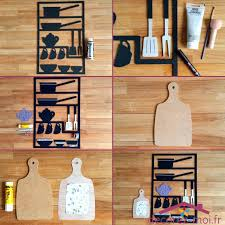 mat駻iel cuisine pas cher tableau deco cuisine tableau ustensiles cuisine en bois avec