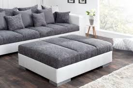 sofa hocker hocker sofa big sofa island weiß grau riess ambiente de