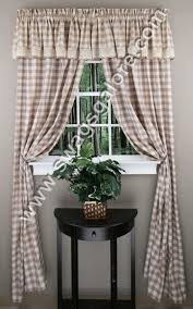 Black And White Buffalo Check Curtains Buffalo Check Curtains U2013 Burgundy U2013 Achim View All Curtains