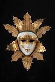 authentic venetian masks golden leaves venetian mask for sale at originalveniceshop