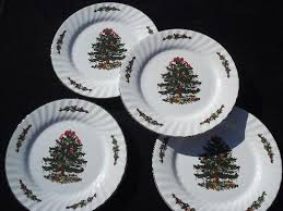 china dinner plates green and tree