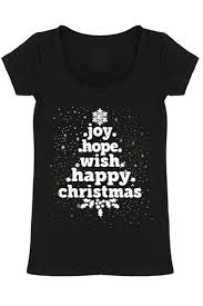 christmas tree word holiday graphic t shirt black niobe clothing