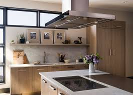 Stainless Steel Kitchen Backsplash by Kitchen Modern Island Kitchen Hood With Rectangle Stainless